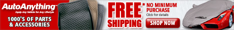 Save on 1,000's of auto accessories w/ Free Shipping at AutoAnything